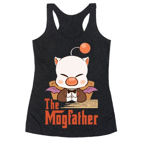 The Mogfather Racerback Tank Top
