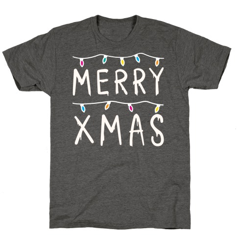 Merry Xmas Things (White) T-Shirt
