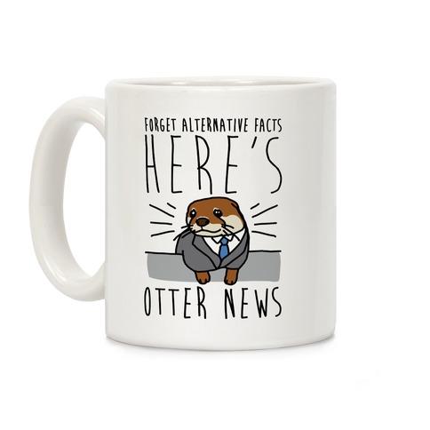 Otter News Coffee Mug