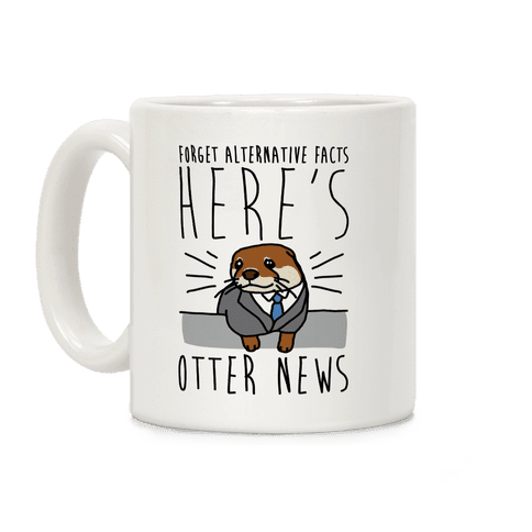 Otter News Coffee Mug