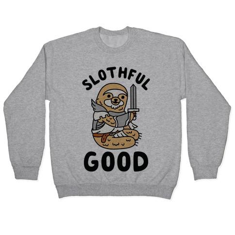Slothful Good Sloth Paladin Pullover