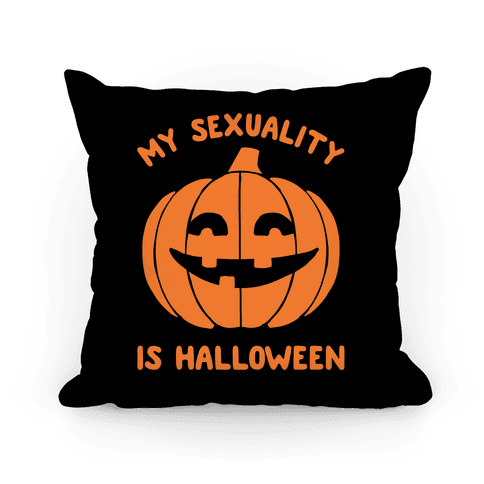 My Sexuality Is Halloween Pillow