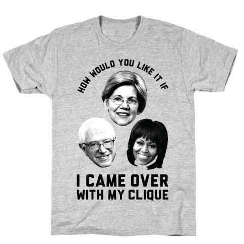 My Clique Warren Bernie Michelle T-Shirt