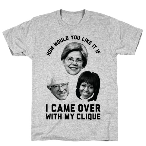 My Clique Warren Bernie Michelle Mens T-Shirt