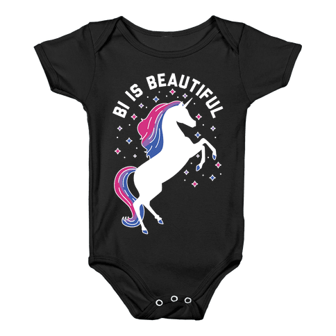 Bi Is Beautiful Baby Onesy