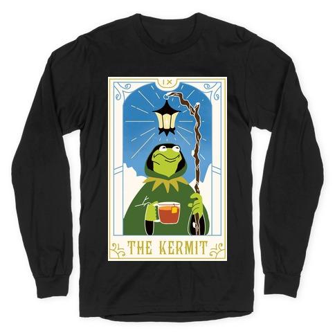 The Kermit Tarot Card Long Sleeve T-Shirt