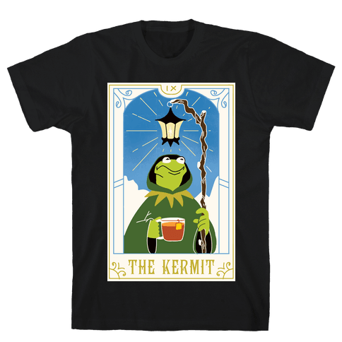 The Kermit Tarot Card Mens/Unisex T-Shirt