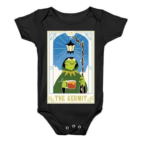 The Kermit Tarot Card Baby Onesy
