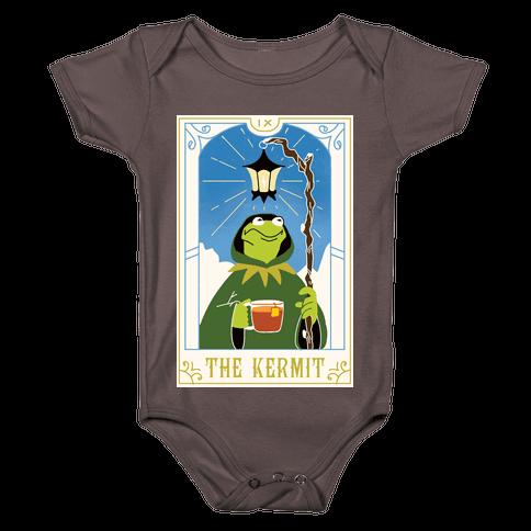 The Kermit Tarot Card Baby One-Piece