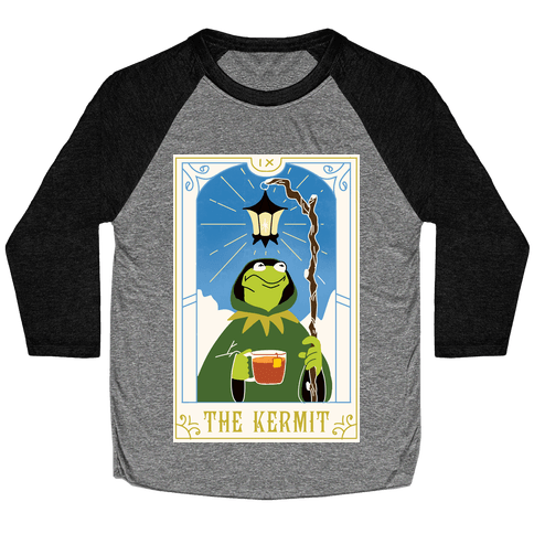 The Kermit Tarot Card Baseball Tee