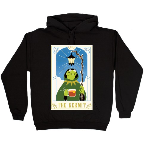 The Kermit Tarot Card Hooded Sweatshirt