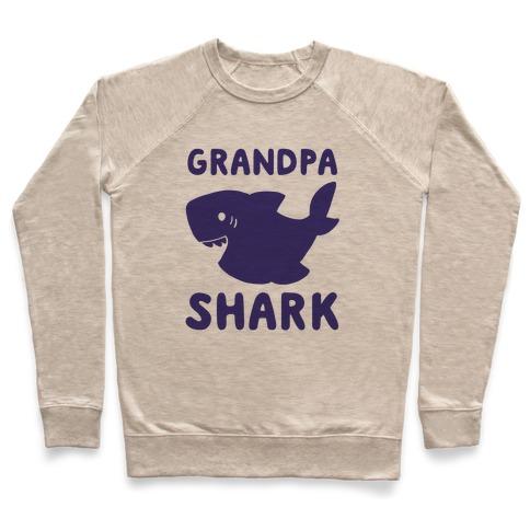 Grandpa Shark (1 of 5 set) Pullover