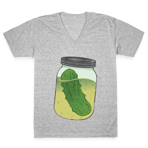 Perfect Pickle V-Neck Tee Shirt