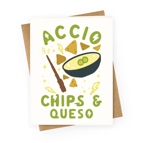Accio Chips and Queso