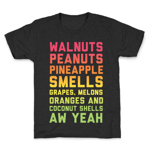 DK Rap Lyrics Kids T-Shirt