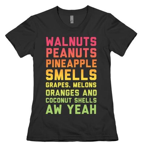 DK Rap Lyrics Womens T-Shirt