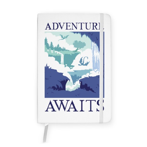 Adventure Awaits Notebook