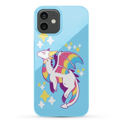 Pan Pride Dragon Phone Case