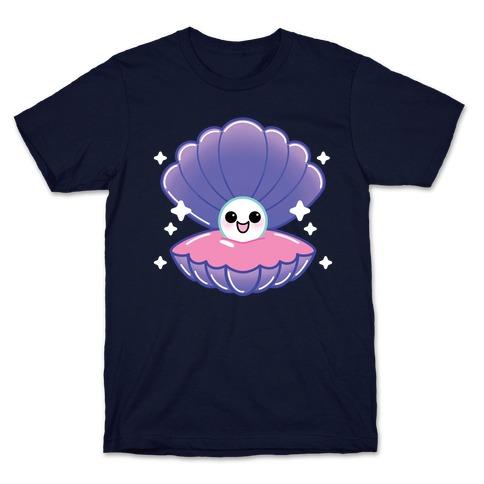 Kawaii Pearl In Shell T-Shirt