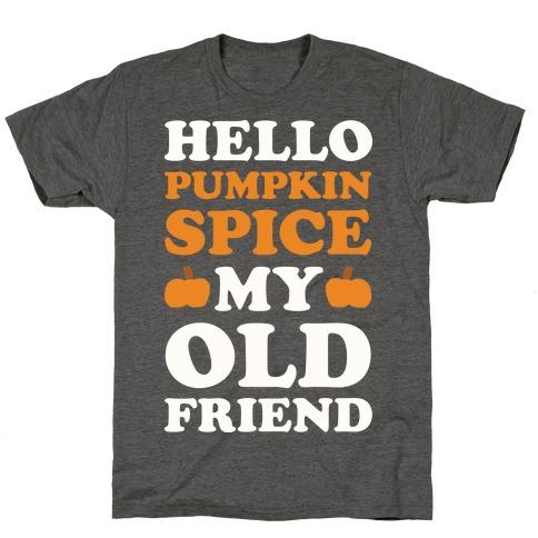 Hello Pumpkin Spice My Old Friend T-Shirt