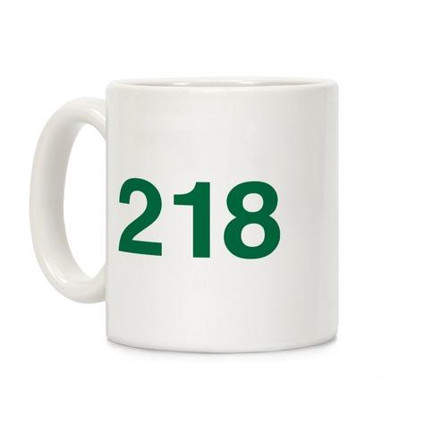 Player Numbers Coffee Mug