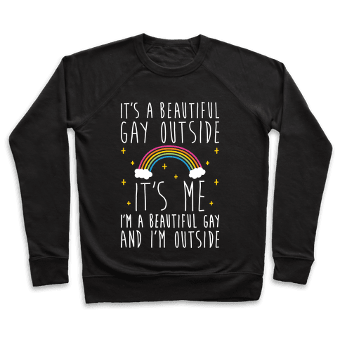 It's A Beautiful Gay Outside Pullover