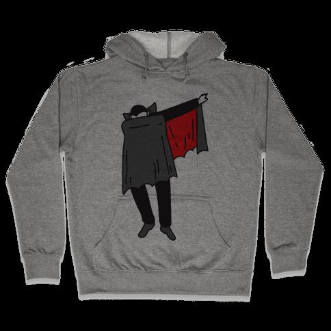 Dabbing Dracula Hooded Sweatshirt
