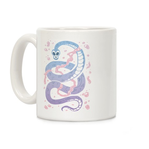 Pastel Goth Snake Coffee Mug