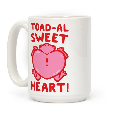 Toad-al Sweet Heart  Coffee Mug