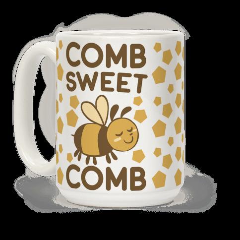 Comb Sweet Comb Coffee Mug