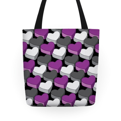 Ace Hearts Pattern Tote