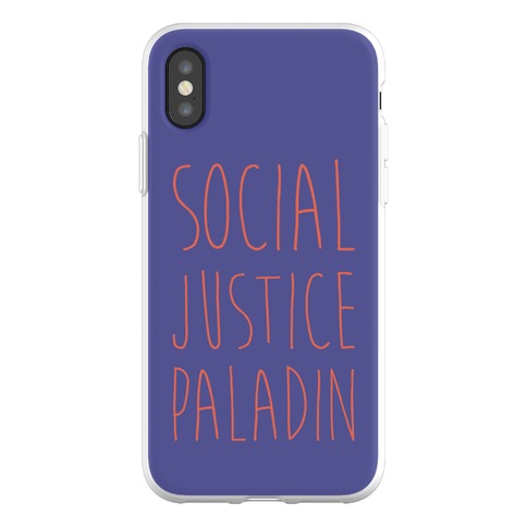 Social Justice Paladin Phone Flexi-Case