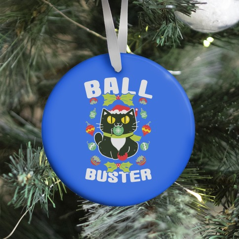 Ball Buster Ornament