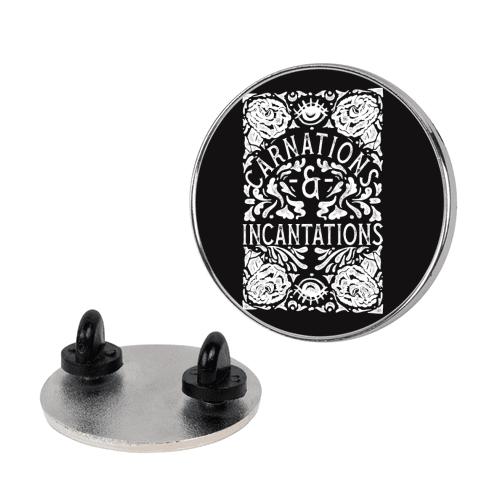Carnations and Incantations pin