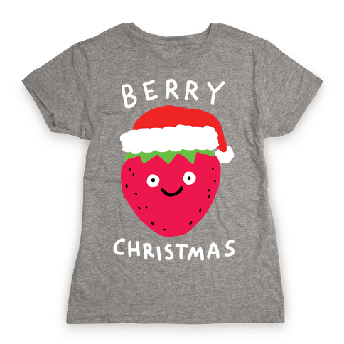 Berry Christmas Womens T-Shirt
