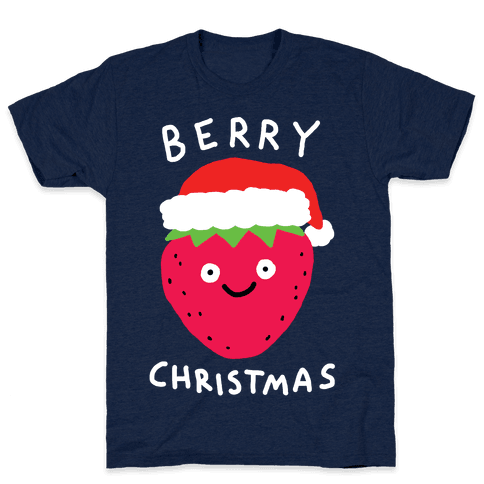 Berry Christmas Mens T-Shirt