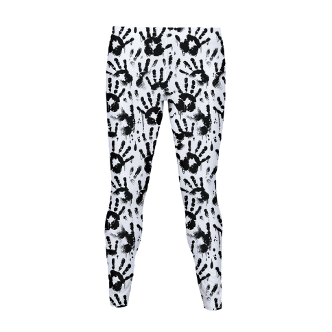 BT Handprints Pattern Women's Legging