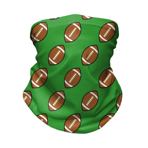 Football Pattern Neck Gaiter