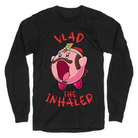 Vlad The Inhaler Long Sleeve T-Shirt