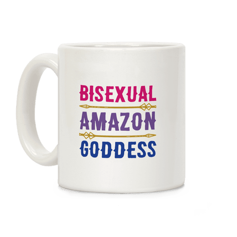 Bisexual Amazon Goddess Parody Coffee Mug