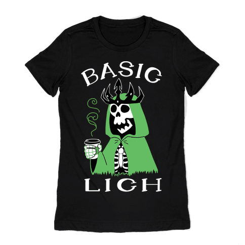 Basic Lich Womens T-Shirt