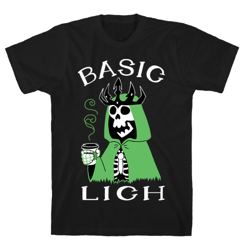 Basic Lich Mens/Unisex T-Shirt
