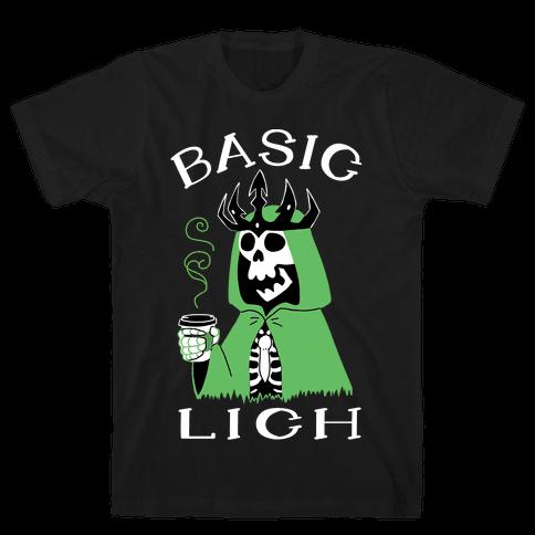 Basic Lich Mens/Unisex T-Shirt