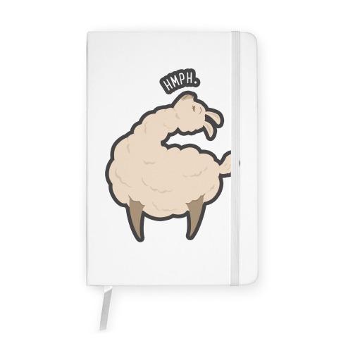 Petty Llama Notebook