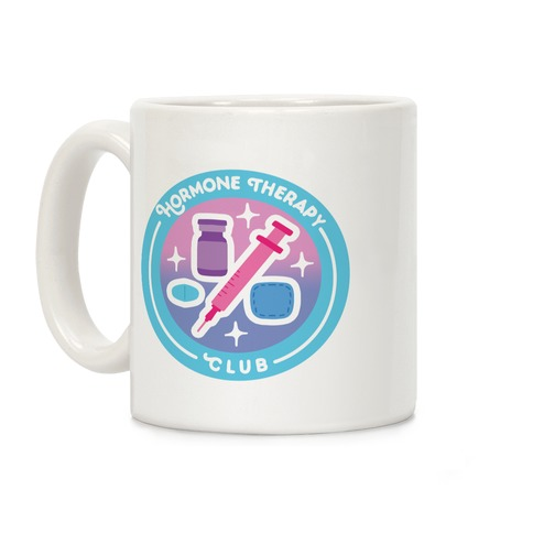 Hormone Therapy Club Patch Coffee Mug