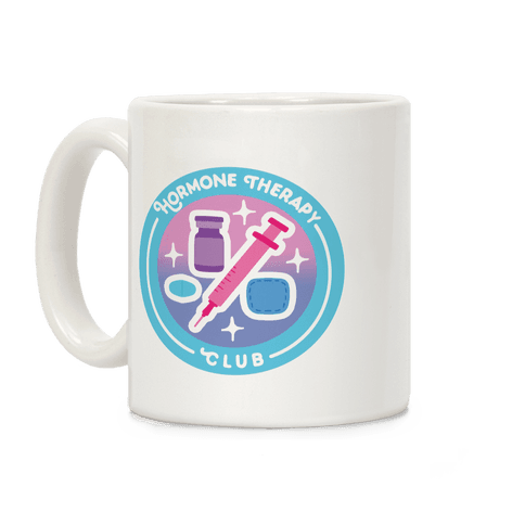 Hormone Therapy Club Patch Coffee Mug