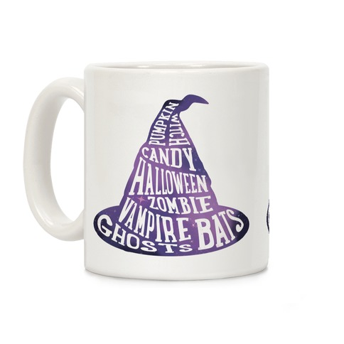 Halloween Witch's Hat Coffee Mug