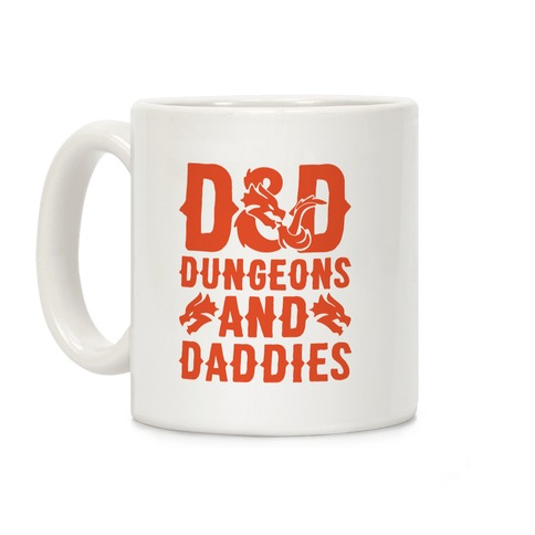 Dungeons and Daddies Parody Coffee Mug