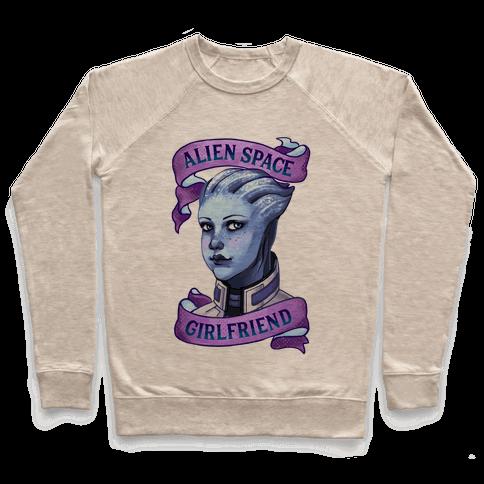 Alien Space Girlfriend Liara Pullover