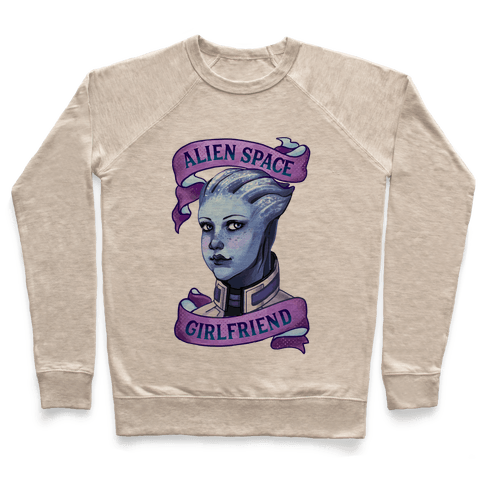 Alien Space Girlfriend Liara Pullover